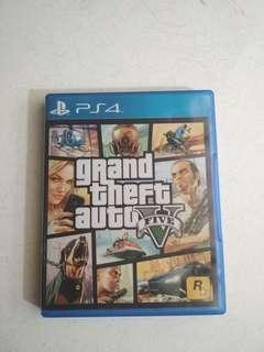 Kaset PS4 GTA V