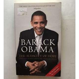 Non-Fiction: The Audacity of Hope by Barack Obama