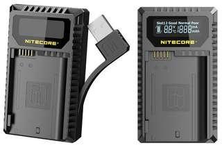 Nitecore UNK2 EN-EL15 D850 Z6 Z7 USB 雙位電池充電座