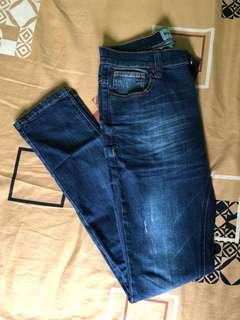 Celana Jeans Slim Fit size 30