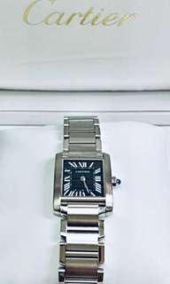 Cartier tank quartz watch for Lady(W0624)