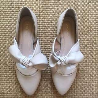 Zalora Knotted Ballet Shoes