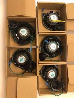 Original Bmw speaker from 530e g30. Retrofit to f10