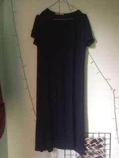 Long dress navy