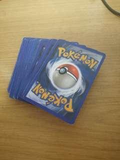 Pokemon Cards (70 pcs) NOT ORIGINAL