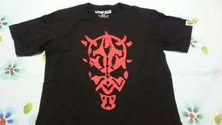 Uniqlo UTGP2015 star wars darth maul t shirt