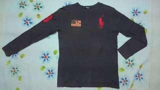 Polo Ralph Lauren long sleeve shirt USA big logo
