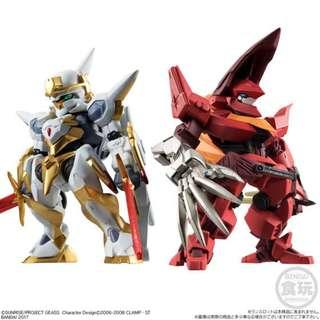 FW CONVERGE MECHANICS CODE GEASS 反叛的魯路修 LANCELOT + GUREN TYPE-02
