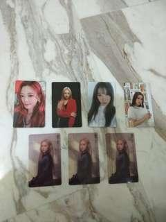 [WTT/WTB] Dreamcatcher The End Of Nightmare Photocards