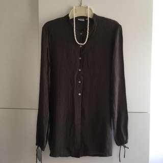 🎁free  Mango Smart Shirt Womens BN