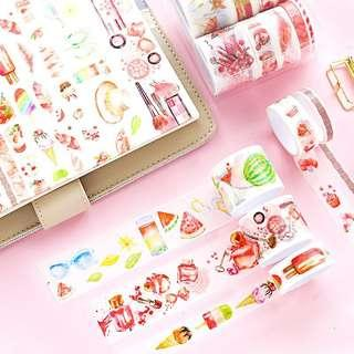 Candy Washi Set of 10