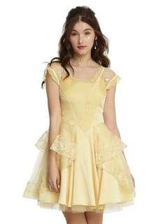 [ NEW ] Hot topic Beauty and the Beast Belle elegant gown