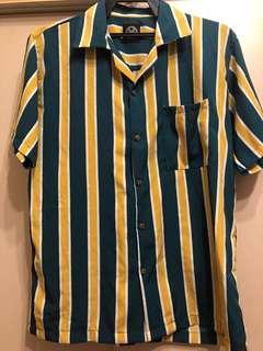 Oversize stripes shirt