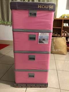 🗣原價1199❗️House四層粉色收納櫃