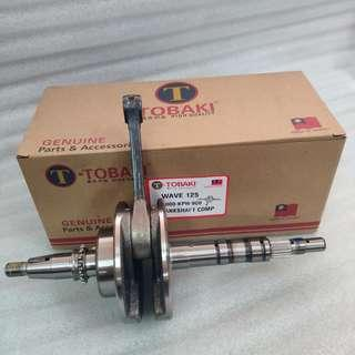 TOBAKI HONDA WAVE125 CRANSHAFT COMP (MADE IN TAIWAN)