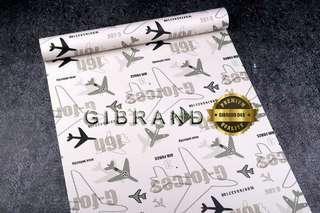 Wallpaper Dinding Motif Pesawat