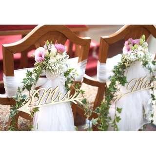 CATHOLIC CHURCH WEDDING / WEDDING SOLEMNISATION DECOR PACKAGE / VENUE DECORATIONS /HOTEL WEDDING FRESH FLOWERS VENUE DECOR / WEDDING TABLE CENTREPIECE