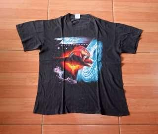 Vintage 80's ZZ Top Band Shirt