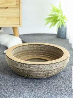 Cosy Bowl Scratcher Catbed
