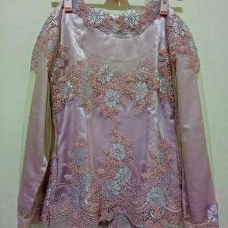 Kebaya pink set