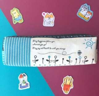 BN Pencil case with sweet illustration