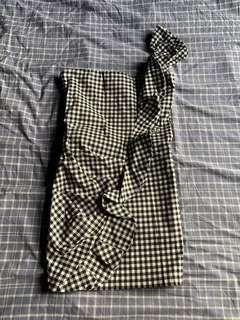Cute chequers dress