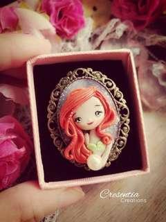 🚚 🌸 Mermaid Brooch 🌸