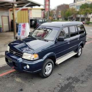 2000 ZACE 4WD 2.4 可領貨車牌