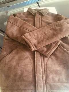 Brown warm jacket