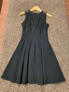 Warehouse Black Lace Dress