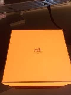 Real Hermes empty box