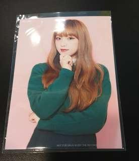 IZONE Yena Photo Japanese Single