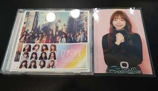 IZONE Japanese Single with Yuri Photo and PO Benefit