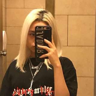 Palm angels die punk tshirt (inspired)