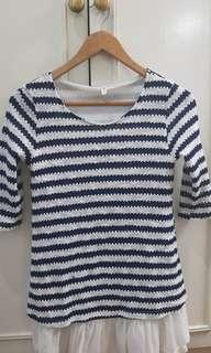 Kamiseta stripes top