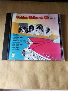 Golden Oldies on CD Vol. 1 - 1987  (Silver Rim 銀圈 CD) Made in Korea