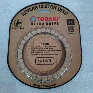 TOBAKI YAMAHA SRL115-EFI KEVLAR CLUTCH DISC RACING 24T(FUEL INJECTION)