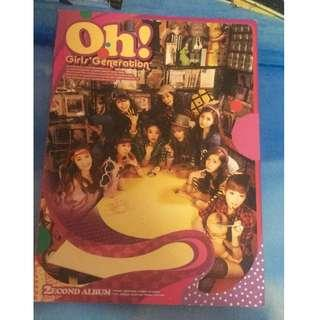 Girl Generation Oh! No cd, photobook only