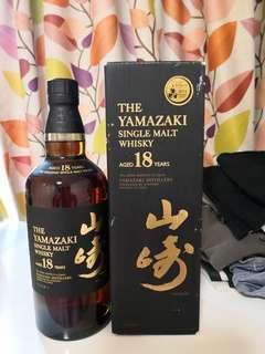 日本威士忌山崎18年