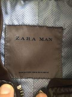 Zara men Leather Jacket