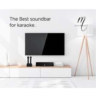 Moment (Gen2) - Wireless Karaoke Soundbar