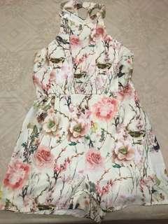 🚚 Oriental Floral Romper