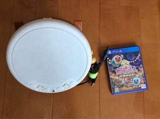 PS4 太鼓達人套裝 包遊戲