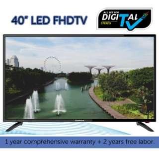 "HARSON'S 40"" LED DIGITAL FHDTV"
