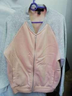 Pink Jacket with fluffy inner