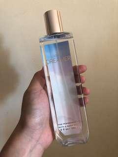 Authentic bath and body fragrance mist