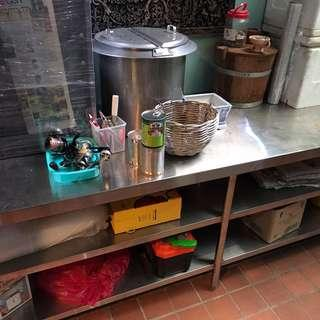 Industry Standard Stainless Steel Kitchen Table