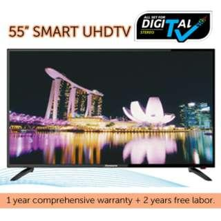 "HARSON'S 55"" SMART DIGITAL LED UHD TV"