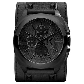 Karl Lagerfeld Black KEEPER Chronograph Watch KL1606