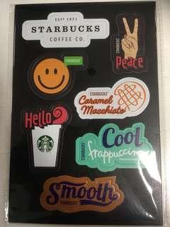 Starbucks Stickers 2019